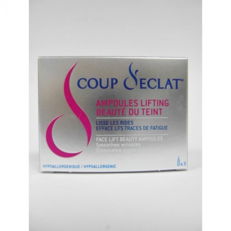 Asepta Coup d'Eclat Ampoules Lifting - Boite 3x1ML
