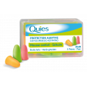 Quies Protection auditive mousse confort 3 paires