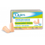 Quies Protection auditive mousse confort 3 paires chair
