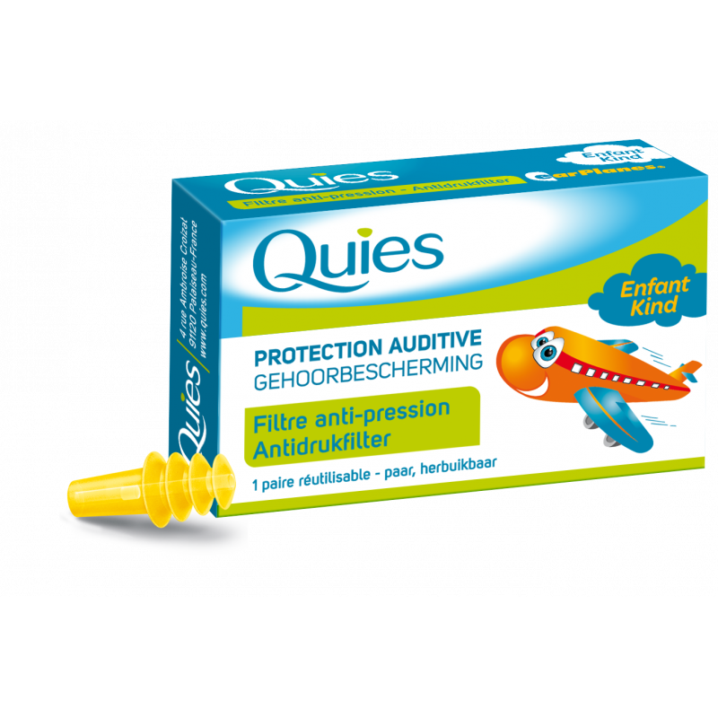Quies Protection auditive enfant avion 1 paire