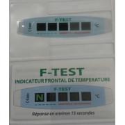 F Test indicateur frontal de température à l'unité
