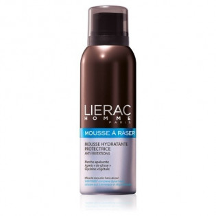 LIERAC MOUSSE DE RASAGE HYDRATANTE - PROTECTRICE ANTI-IRRITATIONS flacon 150ml
