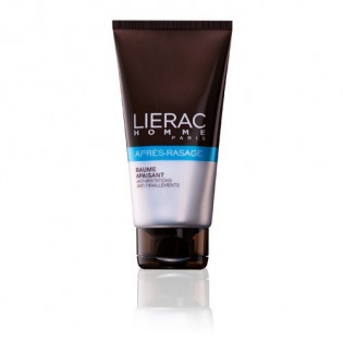 LIERAC - APRÈS-RASAGE - BAUME APAISANT ANTI-IRRITATIONS - ANTI-TIRAILLEMENTS tube 75ml