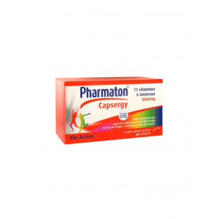 Pharmaton Capsergy ginseng 30 capsules