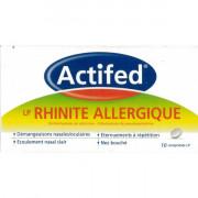 Actifed LP Rhinite Allergique - boite 10 comprimés