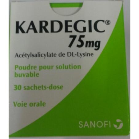 Kardegic 75 mg Sanofi boîte de 30 sachets