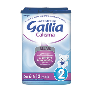 Gallia Calisma Relais 2ème âge. Poudre 800G