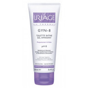 URIAGE GYN-8 Toilette Intime, Gel apaisant, Muqueuses irritées, tube 100ml