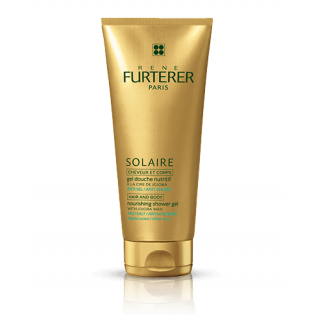 FURTERER Solaire Gel douche nitritif cheveux et corps. Tube 200ml