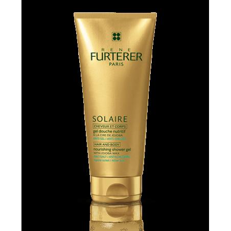 FURTERER Solaire Gel douche nutritif cheveux et corps. Tube 200ml