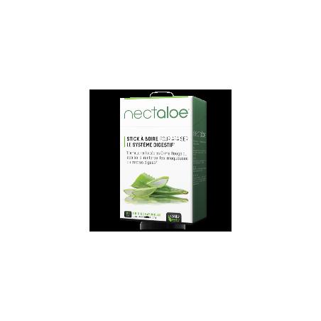 Santé Verte NECTALOE. 20 sticks à l'Aloe Vera