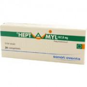 Heptamyl 187.8mg boîte de 20 comprimés