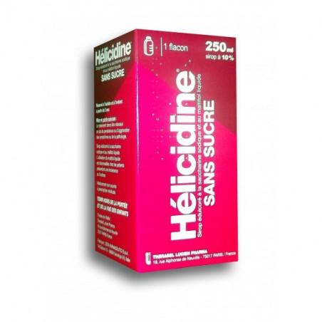 Hélicidine sans sucre Flacon 250ml