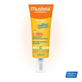 MUSTELA Spray solaire 50+ 200ml