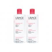 Uriage eau micellaire thermale peaux sujettes aux rougeurs 2x500ml