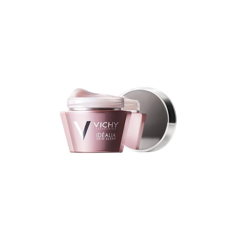 VICHY IDEALIA SKIN SLEEP Crème de nuit - Baume-en-gel réparateur nuit. Pot 50ml