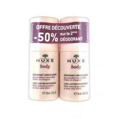 NUXE Body Déodorant Longue Durée 2x50ml