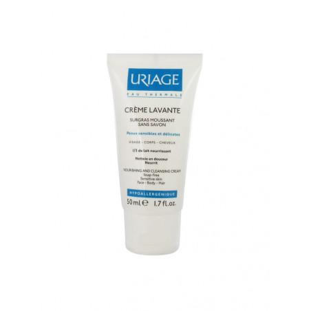URIAGE - CRÈME LAVANTE Surgras moussant sans savon - 50ml