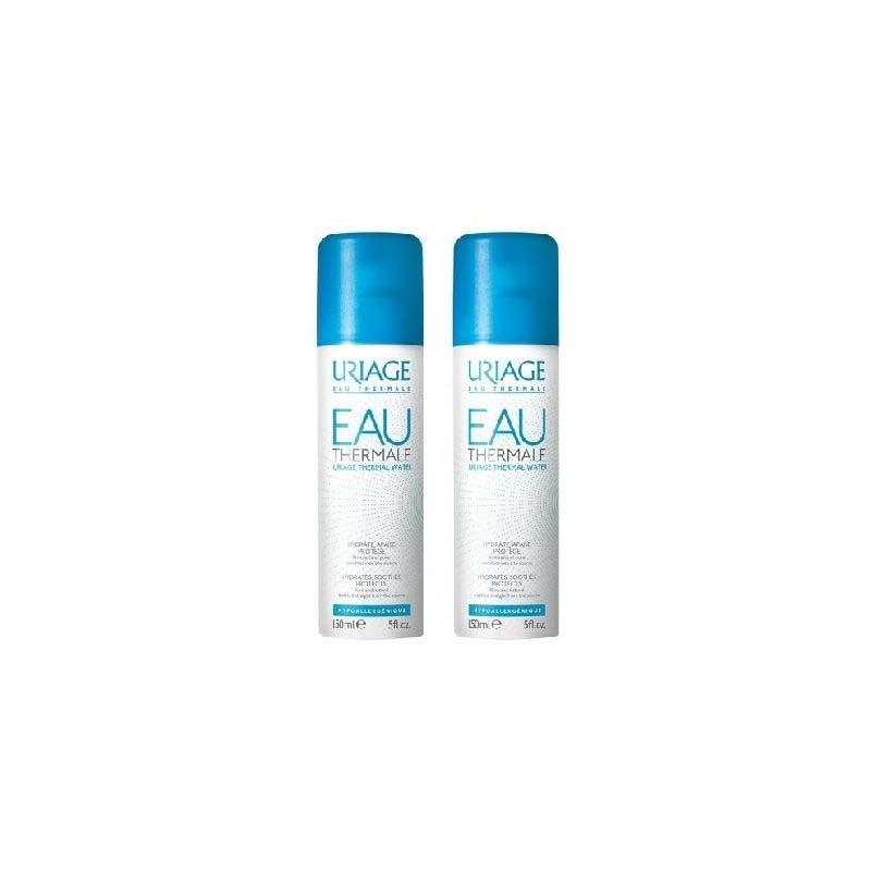 URIAGE - EAU THERMALE D'URIAGE Spray hydratant, apaisant et protecteur - lot de 2 x 150 ml
