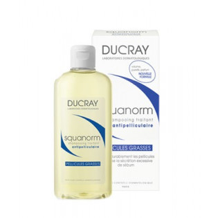 Ducray Squanorm Shampooing Pellicules Grasses. 200ml