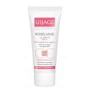 URIAGE ROSÉLIANE CC Crème SPF30 Hydra-protectrice – Correction de teint 40ml