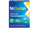 NIQUITIN PATCHS TRANSPARENTS 21MG/24H BTE DE 28