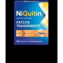 NIQUITIN PATCHS TRANSPARENTS 14MG/24H BTE DE 28