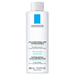 La Roche Posay Solution micellaire physiologique. Flacon pompe 400ML