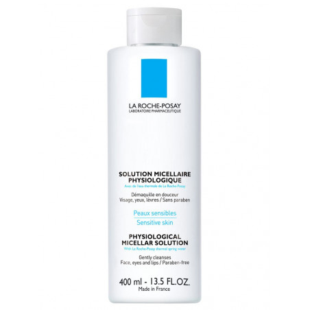 La Roche Posay Solution micellaire physiologique flacon 400ML