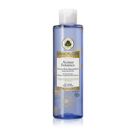 Sanoflore Aciana Botanica eau micellaire démaquillante. Flacon 200ML