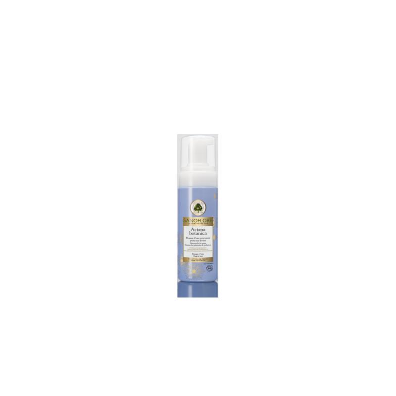 Sanoflore Mousse d'eau nettoyante visage et yeux 150ml