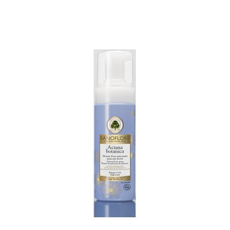 Sanoflore Aciane Botanica Mousse d'eau nettoyante visage et yeux 150ml