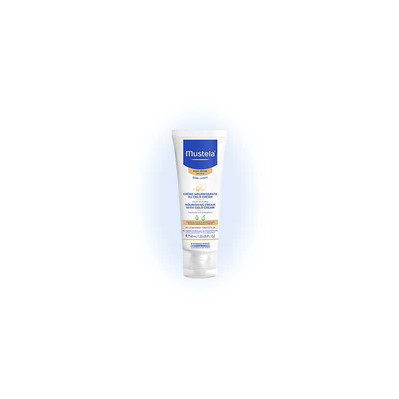 Mustela Bébé Crème au cold cream, ultra protectrice. Tube de 40ML
