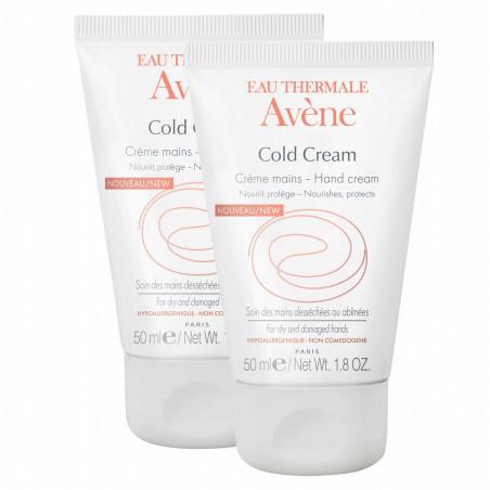 Avène Cold Cream Crème Mains Lot de 2