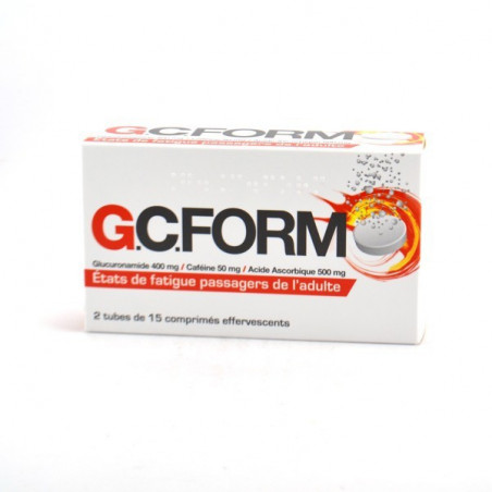 GCFORM 30 cps effervescents