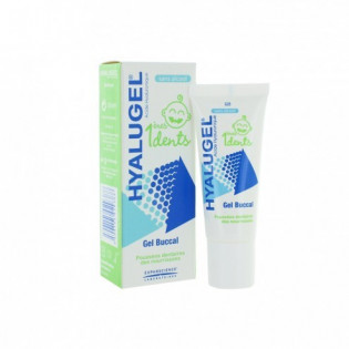 HYALUGEL 1ERES DENTS GEL BUCCAL SANS ALCOOL TUBE 20ML