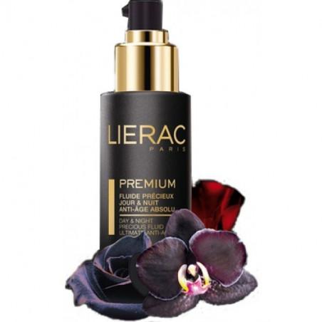 Lierac Premium Fluide Précieux Jour & nuit anti-âge absolu. Flacon pompe 30ML