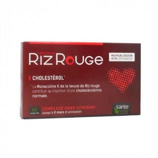 Levure de riz rouge 600mg Santé verte boîte de 60 comprimés