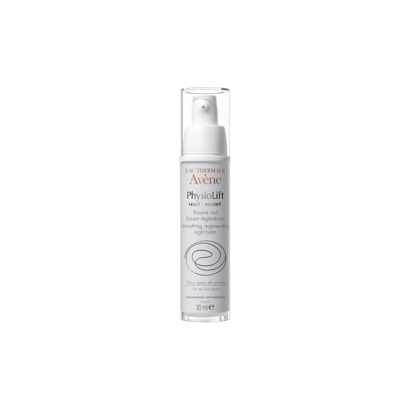 AVENE PHYSIOLIFT NUIT BAUME NUIT LISSANT REGENERANT FLACON 30ML