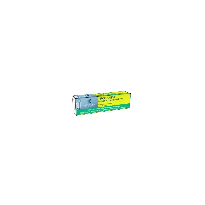 Trolamine Biogaran émulsion tube de 46,5g