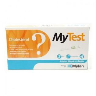 MYTEST CHOLESTEROL MYLAN 2 KITS