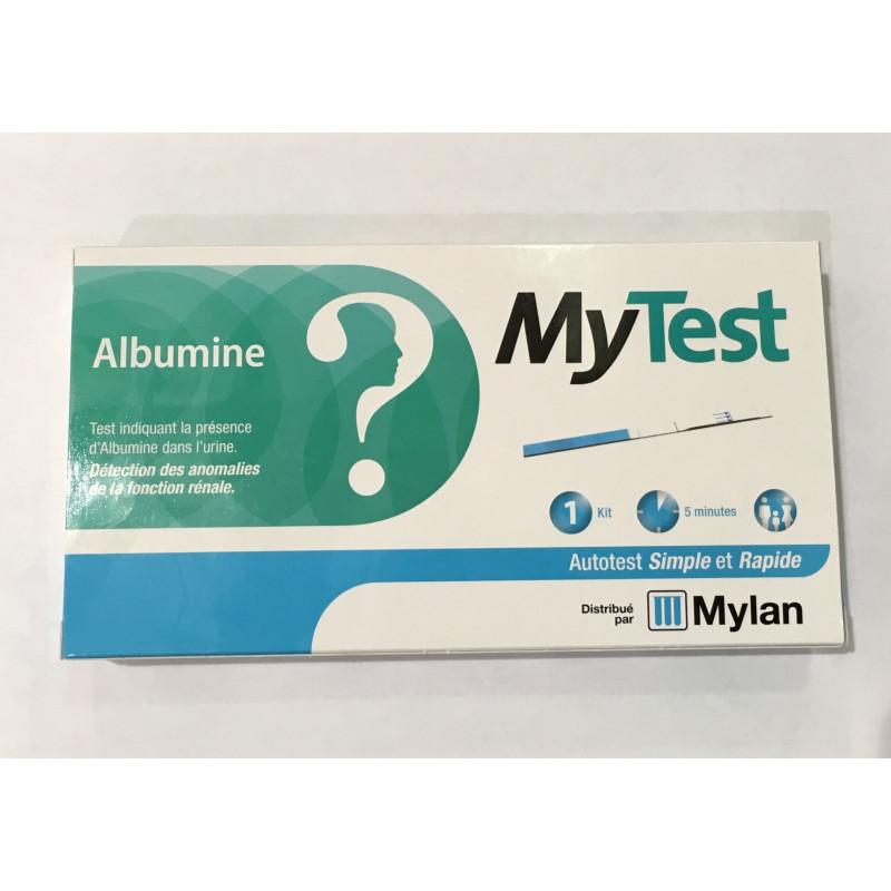 MYTEST ALBUMINE MYLAN 1 KIT