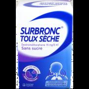 SURBRONC TOUX SECHE SANS SUCRE BOEHRINGER BOITE DE 15 SACHETS