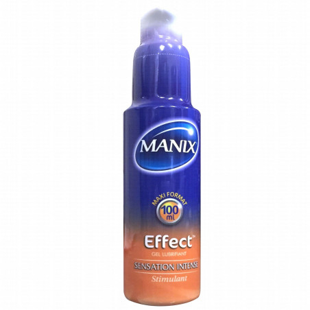 Manix Gel Lubrifiant Effect. Flacon 100ml