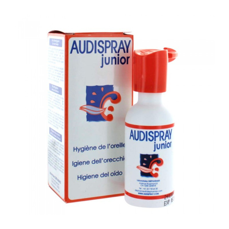 AUDISPRAY JUNIOR HYGIENE DE L OREILLE SPRAY 25ML