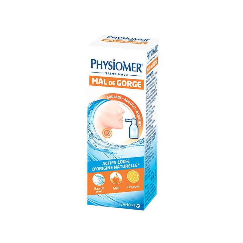PHYSIOMER MAL DE GORGE SPRAY 20ML