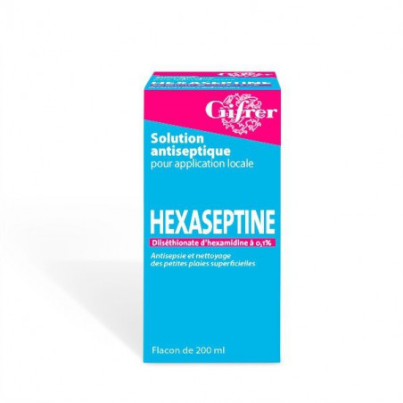 HEXASEPTINE SOLUTION ANTISEPTIQUE FLACON 75ML