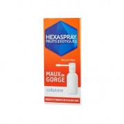 HEXASPRAY MAUX DE GORGE FRUITS EXOTIQUES COLLUTOIRE FLACON PRESSURISE 30G