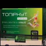 Santé Verte Toniphyt Multinature - 30 comprimés