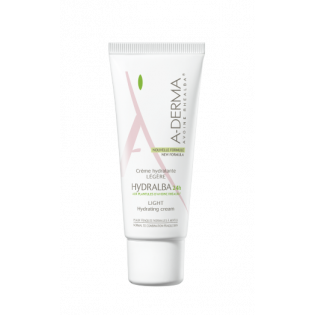 Aderma Hydralba Crème Hydratante Légère. Tube 40ML